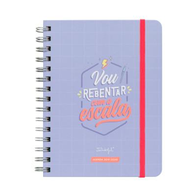 Agenda sketch 2019-2020 Vista semanal - Vou rebentar com a escala