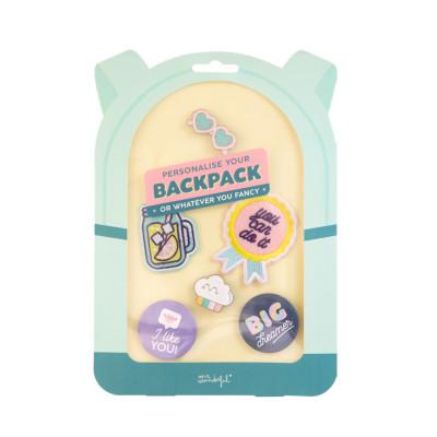 Extras para personalizar a tua mochila ou o que quiseres - Like