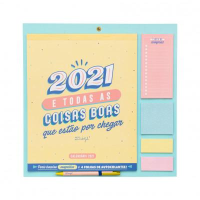 Calendário de parede - 2021 e todas as coisas boas