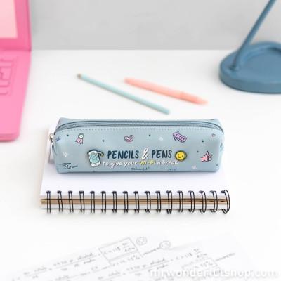 Estojo - Pencils & pens to give your Wi-Fi a break (ENG)