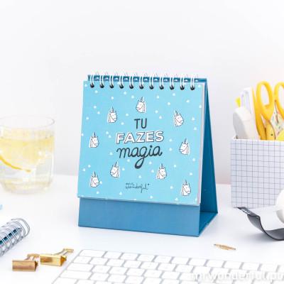 Organizador semanal de mesa - Tu fazes magia (PT)