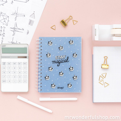 Caderno pequeno - Stay magical (ENG)