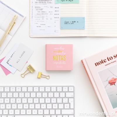 Bloco de notas e notas adesivas (PT)