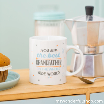 Caneca - You are the best grandfather in the whole wide world (ENG)