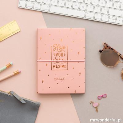 Caderno - Hoje vou dar o máximo (PT)