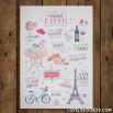 Póster Lovely Streets - Ce qui me charme à Paris