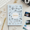 Caderno Lovely Streets - Sketch the world Barcelona