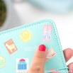 Capa para passaportes com vontade de ver o mundo - Lovely Streets