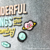 Saco pequeno - Wonderful things are coming