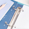 Refill pad for ring binder