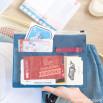 Porta-documentos de viagem - Que comecem as aventuras!