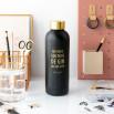 Garrafa Black&Gold - No fundo sou mais de gin do que de gym
