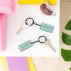 Set de dois porta-chaves para pessoas inseparáveis