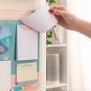 Quadro magnético com roleta anti-preguiça para tarefas e outros desafios domésticos