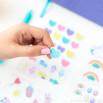 Kit para personalizar e alegrar a tua agenda e cadernos