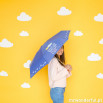 Guarda-chuvas pequeno - Depois da tempestade, vem sempre... o sol!