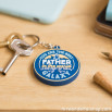 A keyring rubber - For great fathers (ENG)