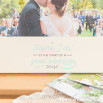 Moldura de fotos - Saying 'I do' is the start of a great adventure (ENG)