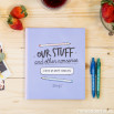 Kit livro + canetas - Our stuff and other nonsense (ENG)