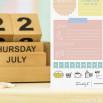 Bloco de tarefas para o teu dia-a-dia (PT)