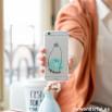 Capa transparente para iPhone 6 – Donut
