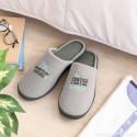 Set para pais bem preparados com pantufas de tamanho 44-47