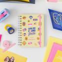 Kit de agenda pequena clássica 2021-2022 semanal - Cada dia é uma festa