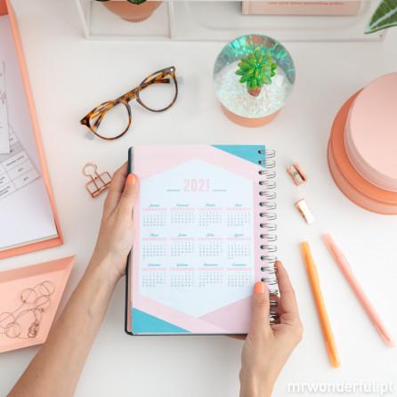 Agenda clássica 2019-2020 Vista semanal
