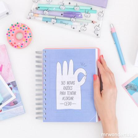 Agenda sketch 2018-2019 Vista diária - Todas as coisas que eram para ontem (PT)