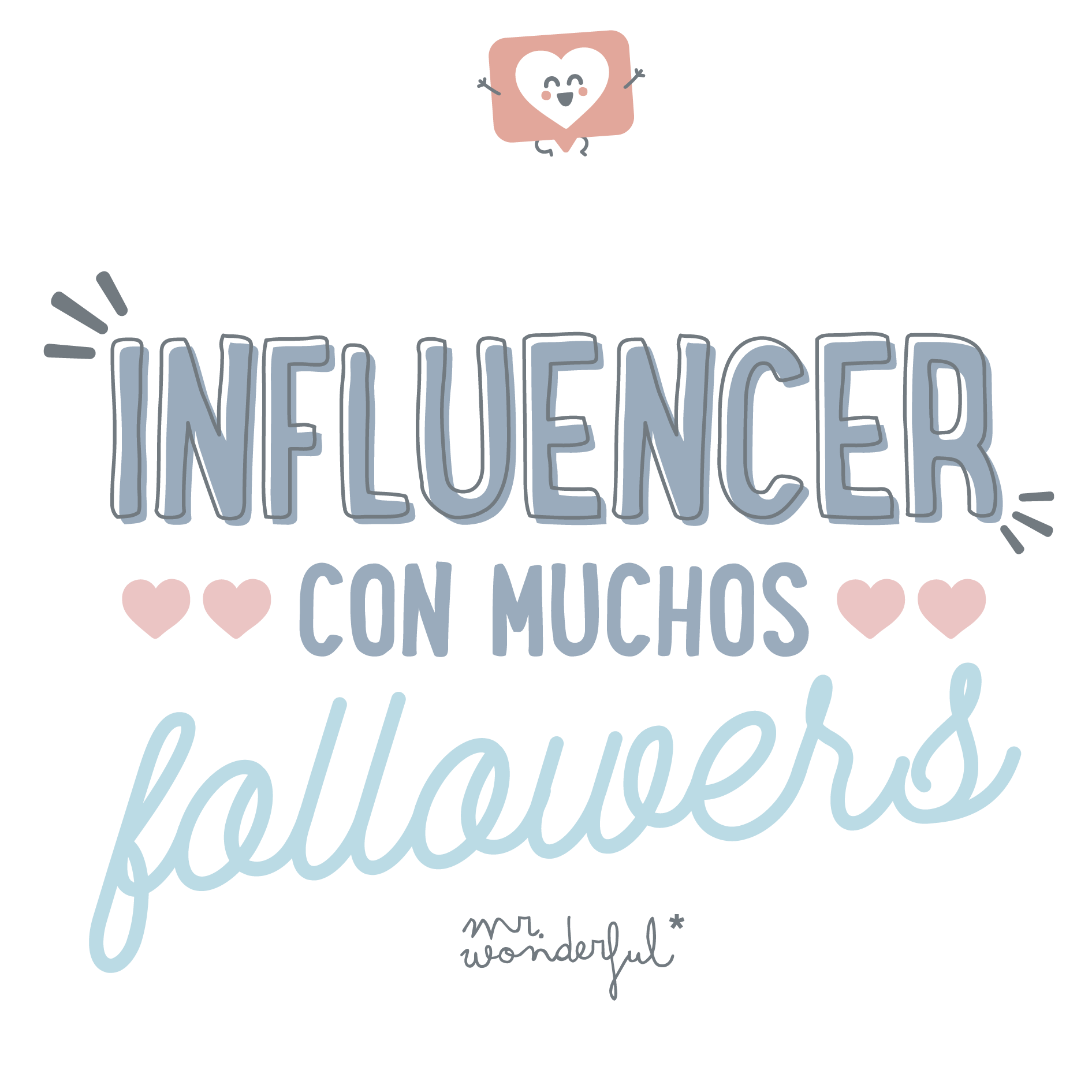 Influencer con muchos followers