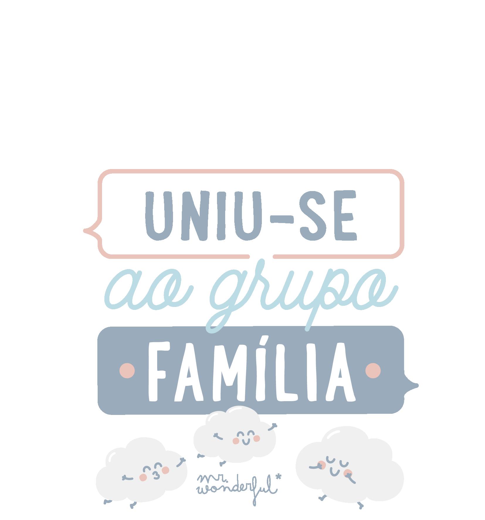 uniu-se ao grupo familia
