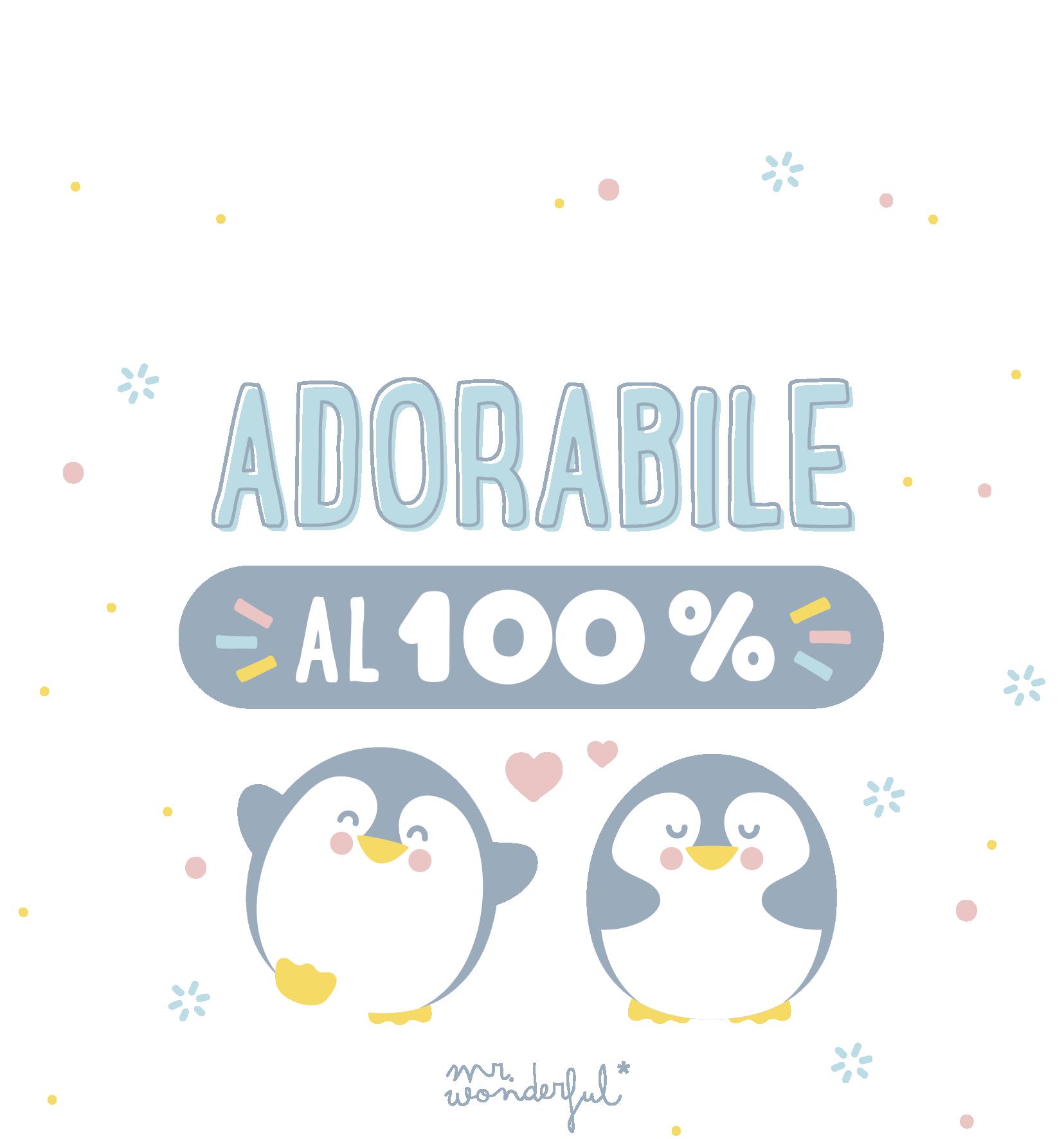 Adorabile al 100%