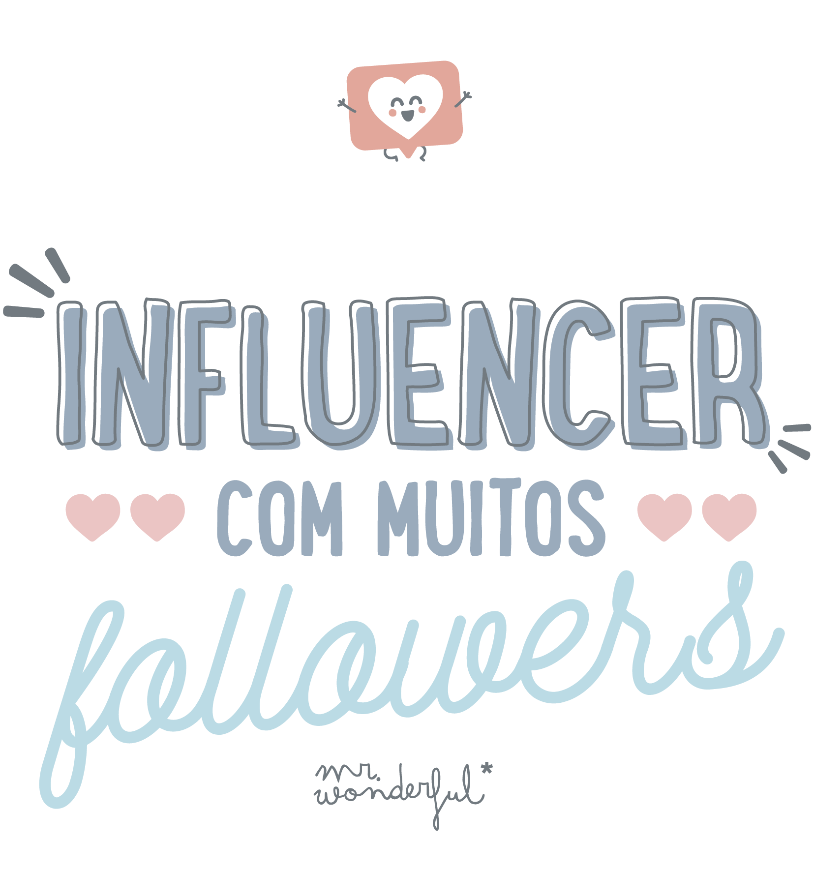 influencer com muitos followers