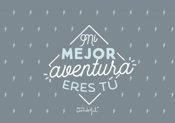 Mi mejor aventura eres tú