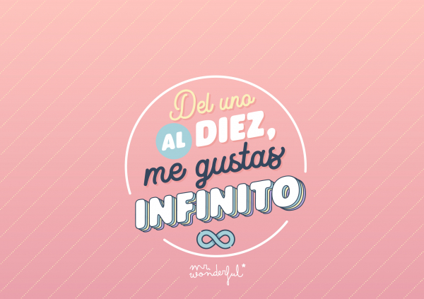 Me gustas infinito
