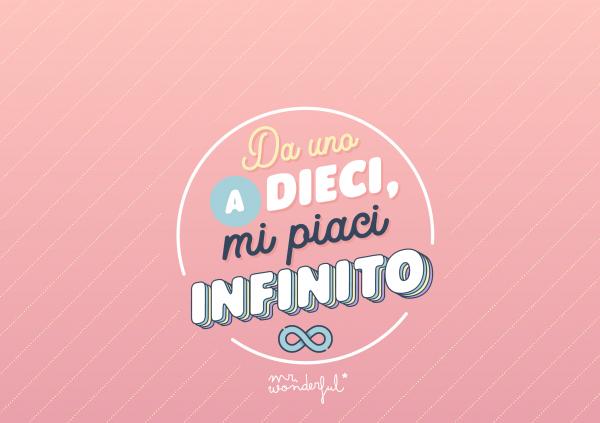 Mi piaci infinito