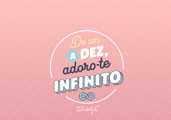 Adoro-te infinito