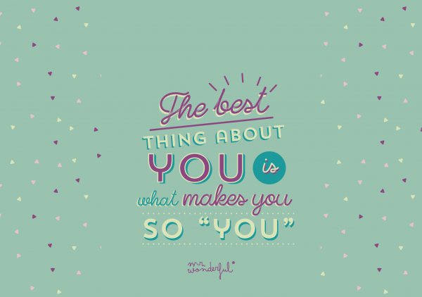 The best thing about you