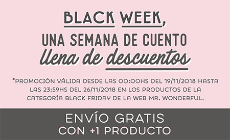 Ofertas Black Friday Mr. Wonderful