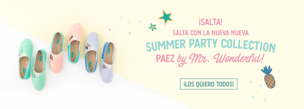 Alpargatas Paez by Mr.Wonderful