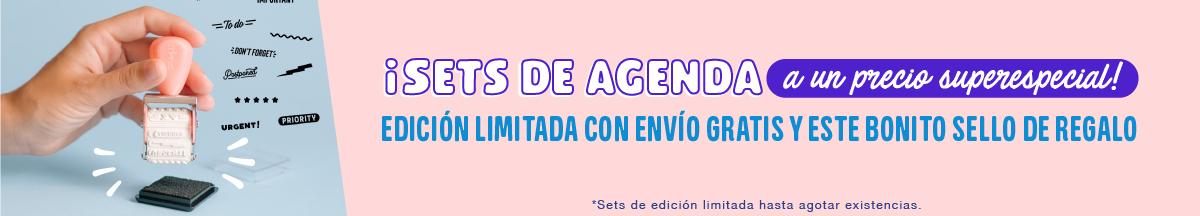 Promo sets agendas anuales