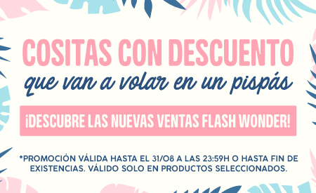 Ventas Flash Mr.Wonderful