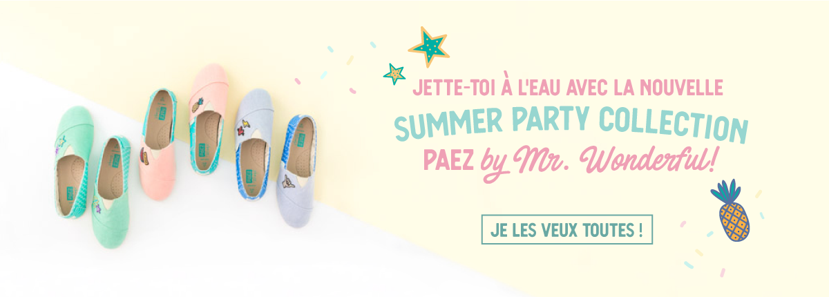 Collection Paez by Mr. Wonderful