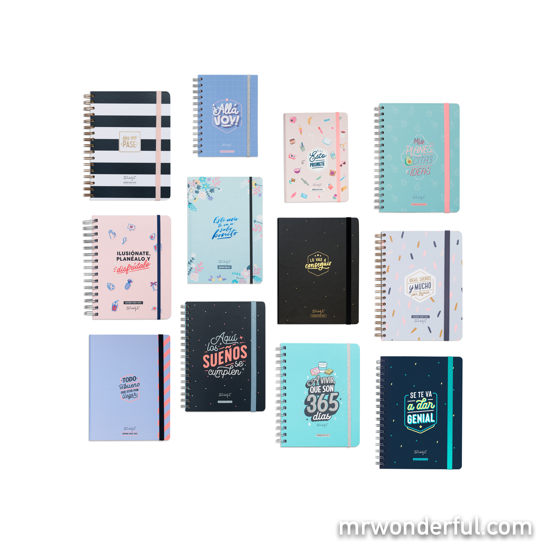 Agendas Mr. Wonderful 2020-2021 - Mr. Wonderful